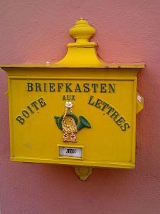Boite aux lettre allemande